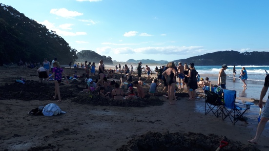 2018 - 01 - Coromandel - Hot water beach (3)
