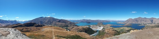 2018-02 - Wanaka - Diamond Lake View point (4)